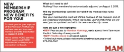 New Membership Slip